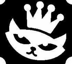 Glitter Tattoo CAT PRINCESS FACE CROWN