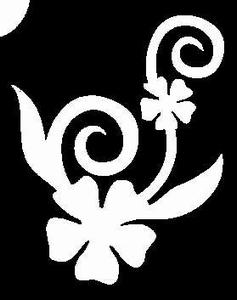 Glitter Tattoo FLOWER DANCE bloem