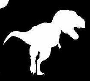 Glitter Tattoo DINO T REX 2 dinosaurus