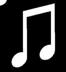 Glitter Tattoo MUSICNOTE 2 muzieknoot 2
