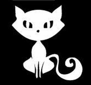 Glitter Tattoo CAT fancy kat