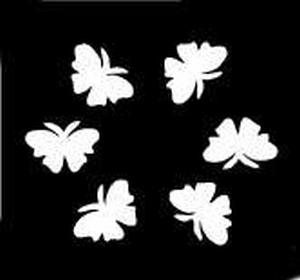 Glitter Tattoo BUTTERFLIES LITTLE vlinders