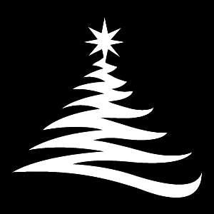 Glitter Tattoo CHRISTMAS TREE 4 kerstboom