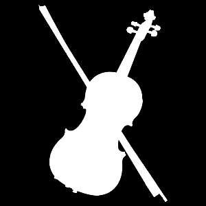Glitter Tattoo FIDDLE viool