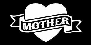 Glitter Tattoo HEART MOTHER hart moeder