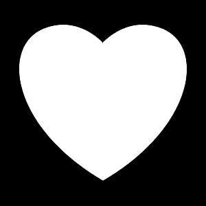 Glitter Tattoo HEART hart