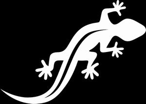 Glitter Tattoo GECKO Lizard