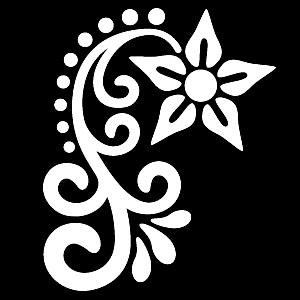 Glitter Tattoo HENNA 2