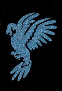 Glitter Tattoo PARROT papegaai vogel