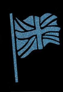 Glitter Tattoo FLAG 3 UK vlag