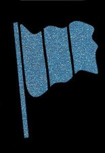 Glitter Tattoo FLAG 1 vlag