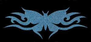 Glitter Tattoo BUTTERFLY NEW vlinder