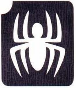 Glitter Tattoo HALLOWEEN SPIDER spin