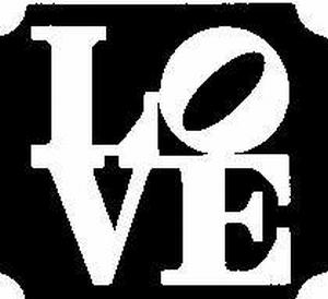 Glitter Tattoo LOVE