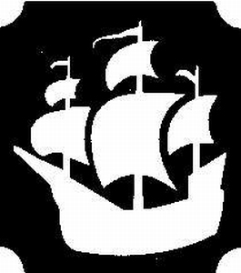 Glitter Tattoo PIRATES SHIP piratenschip
