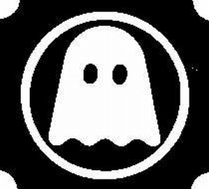 Glitter Tattoo HALLOWEEN GHOST 3 spook 3