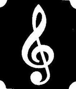 Glitter Tattoo MUSIC NOTE muzieknoot