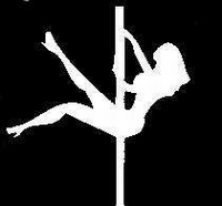 Glitter Tattoo POLEDANCER paaldanseres