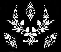Glitter Tattoo FLOWER NECKLACE ketting bloem