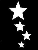 Glitter Tattoo STARS 4 sterren
