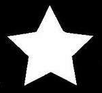 Glitter Tattoo STAR single