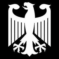 Glitter Tattoo GERMAN EAGLE adelaar