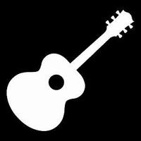 Glitter Tattoo GITAR 1 gitaar