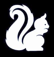 Glitter Tattoo SQUIRREL eekhoorn