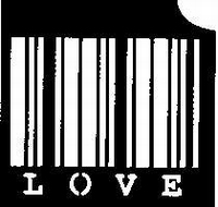 Glitter Tattoo BARCODE love