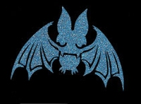 Glitter Tattoo HALLOWEEN BAT new vleermuis nieuw
