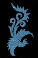 Glitter Tattoo BIRD FANCY vogel sierlijk