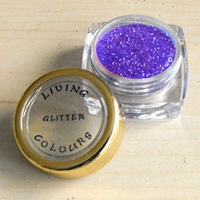 GLITTER make up Paars