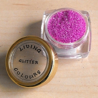 GLITTER make up Roze pastel
