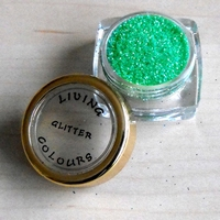 GLITTER make up Groen pastel