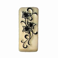 Kenji tattoo stempel medium bloemen rank
