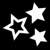 Glitter Tattoo STARS sterren