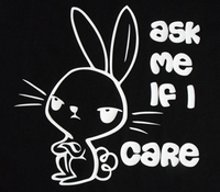 T-shirt ASK ME IF I CARE