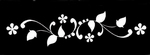 Glitter Tattoo BRACELET FLOWERBUDS BLOEM ARMBAND