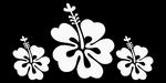 Glitter Tattoo FLOWER HIBISCUS 3 bloem