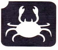 GlitterTattoo CRAB krab