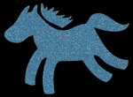 Glitter Tattoo HORSE paard paardje