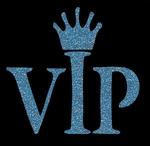 Glitter Tattoo VIP very important princess (person)