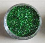 Glitter laser groen