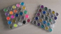 Glitter Tattoo pakket SET van 50 potjes (inhoud 5 gram elk)