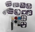 Glitter Tattoo Set vrijgezellen pakket