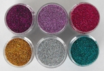 a. laser glitterset 6 kleuren SPECIALE AANBIEDING