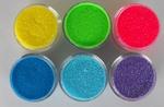 a. UV (blacklight) glitterset 6 kleuren SPECIALE AANBIEDING
