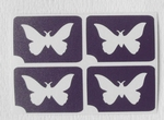 Glitter Tattoo vlinder butterfly minidesign