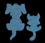 Glitter Tattoo DOG CAT hond kat