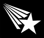 Glitter Tattoo STAR RAINBOW ster regenboog